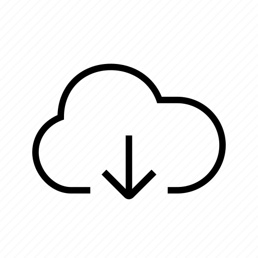 Cloud, down, download, export icon - Download on Iconfinder