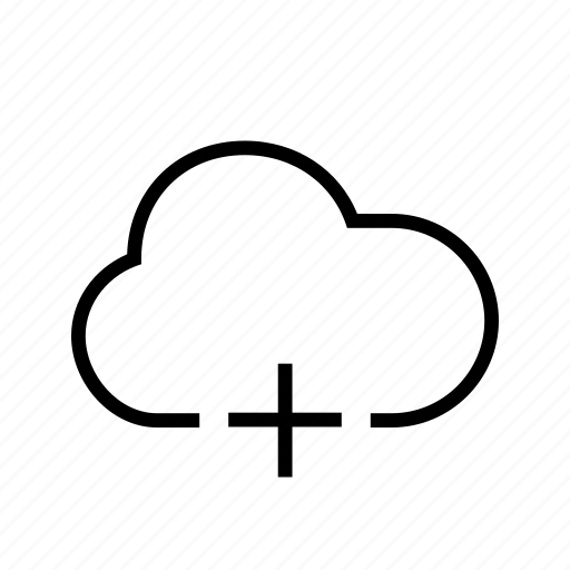 add, cloud, create, make, plus icon