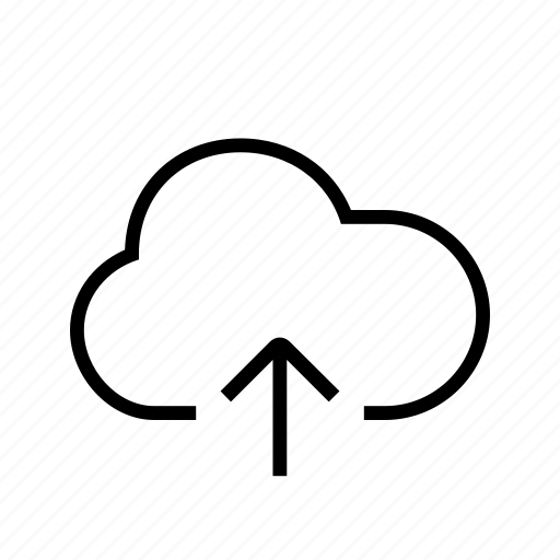 cloud, export, import, up, upload icon