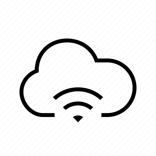 cloud, connection, signal, wifi, wireless icon