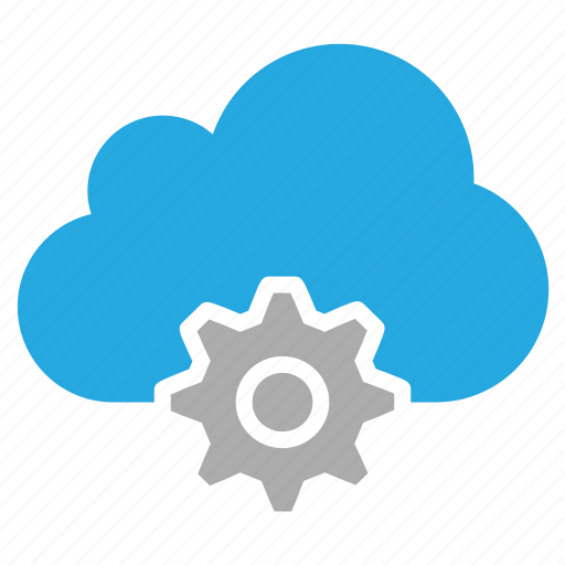 cloud, configuration, gear, options, set, setting, tool icon