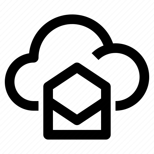 Cloud, communication, computing, email, forecast, mail, upload icon - Download on Iconfinder