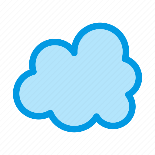 cloud, cloudy, data, forecast, storage, weather icon