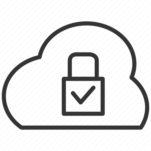 cloud, password, protection, safe, secure, upload icon