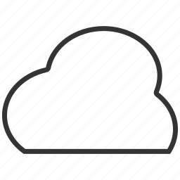 cloud, clouds, sky, upload, weather icon
