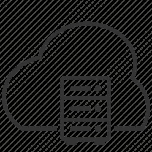 cloud, computing, file, server, upload icon