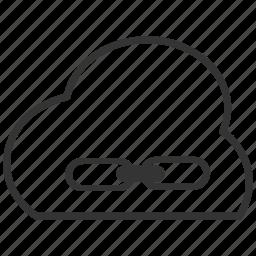 backup, cloud, file, link, upload icon