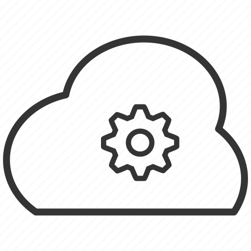 cloud, controll, download, setting, upload icon