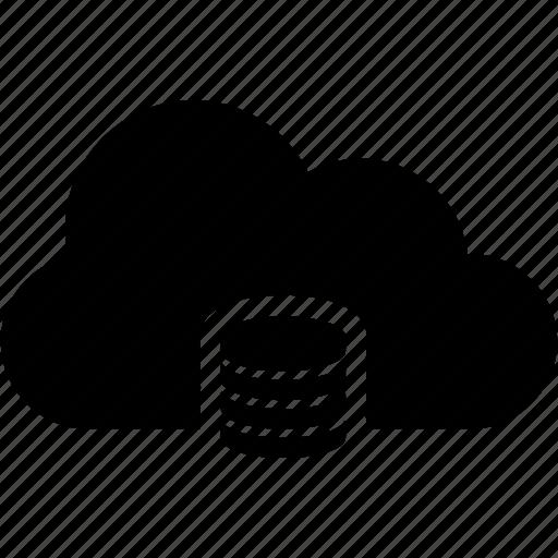 cloud, database icon