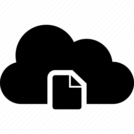 cloud, new, sheet icon
