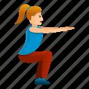 girl, gymnastics, woman, avatar, people
