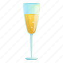 champagne, christmas, glass, party