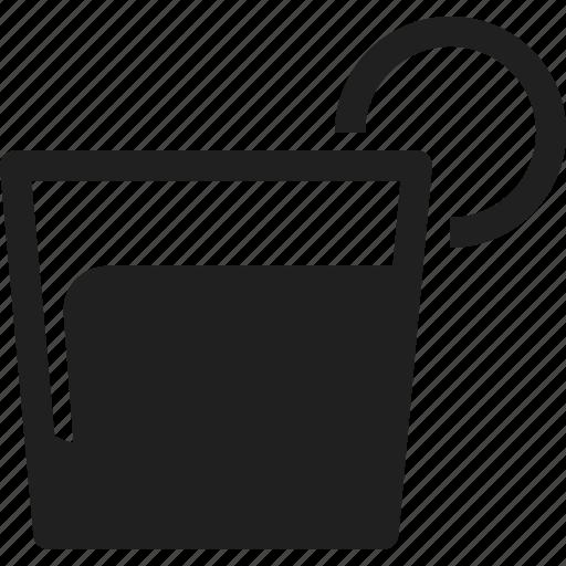 cocktail, design, line, web icon