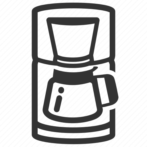 brew, cafe, coffee, coffee machine, coffee shop, coffeemakers, drip icon