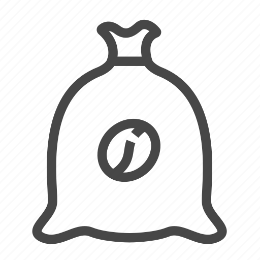 bag, coffee, pack, package icon