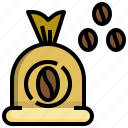 coffee, beans, drink, food