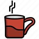 coffee, cup, food, drink