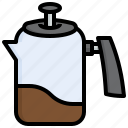 percolator, pot, food, coffee, kettle, kitchenware