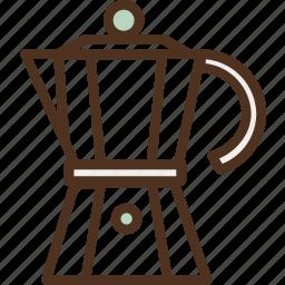 addict, addiction, awake, coffee, coffee pot, jar, pot icon