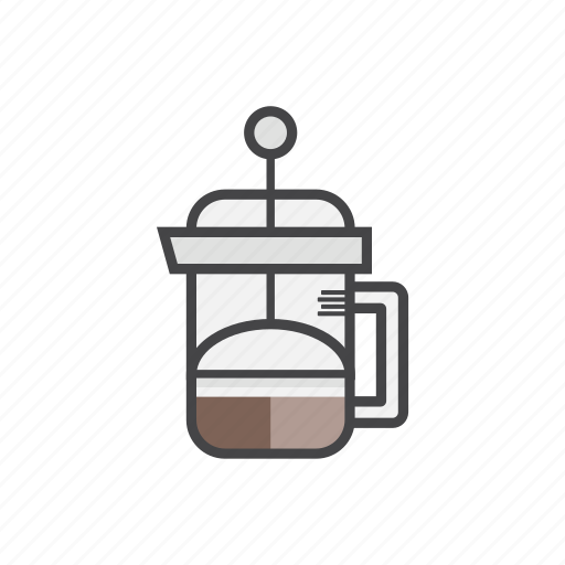 aeropress, coffee, coffee1, coffeemaker, drink, hot icon