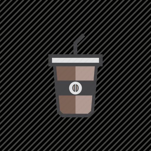 coffee, coffee1, coffelatte, cold, icedcoffee icon