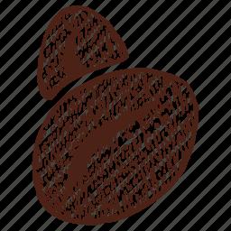 coffee, coffee bean, coffee grains, drink, espresso, grains, ground coffee beans icon