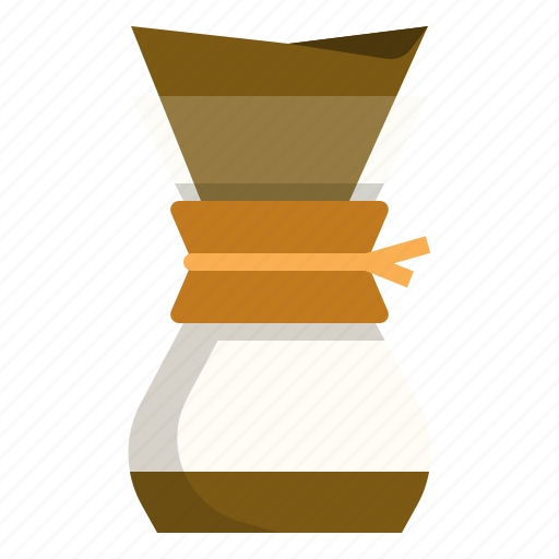 chemex, coffee, filter, maker icon