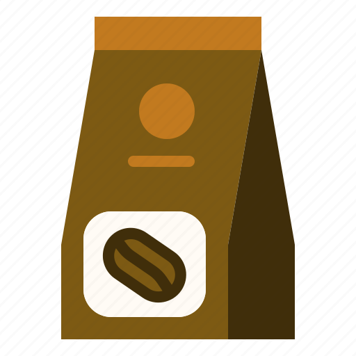 Coffee Ground Pack Roasted Icon