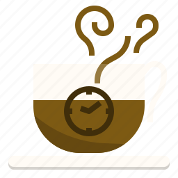 break, coffee, rest, time icon