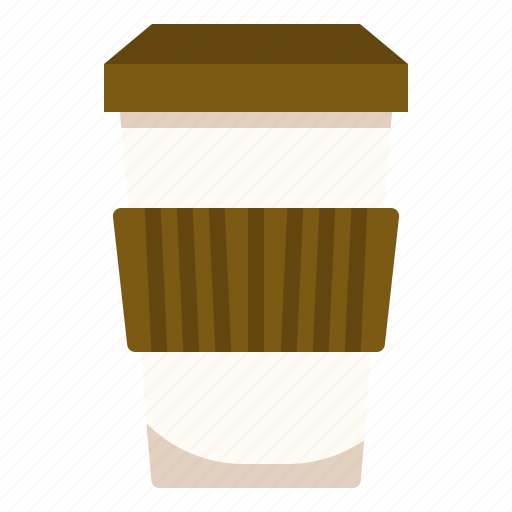 coffee, container, drink, hot icon