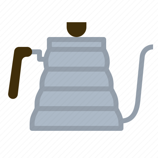 brewing, coffee, hot, kettle, water icon