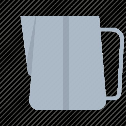 art, coffee, jar, latte, milk, pitcher icon