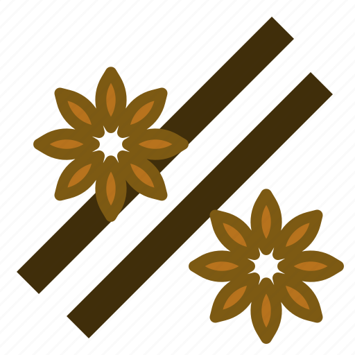 anise, bakery, cinnamon, coffee, smell, star icon