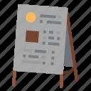 board, daily, food, menu, restaurant