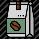 bag, bean, coffee, sell, shop