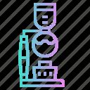 coffee, evaporation, maker, shop, syphon icon