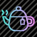 drink, hot, jar, pot, tea icon