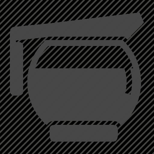 barista, coffee, coffeepot, diner, free refill, pot icon