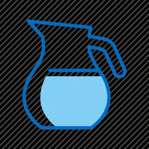 carafe, jar, milk, pitcher icon