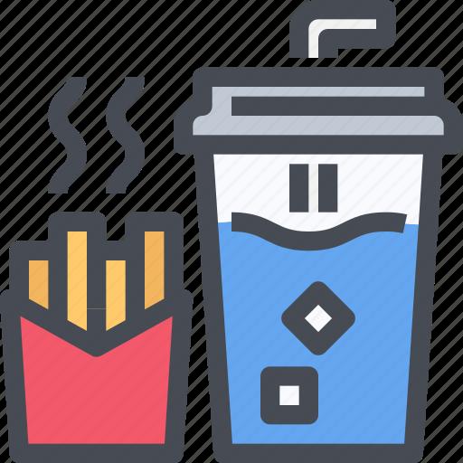 burger, drink, fast food, food, hamburger, junk icon