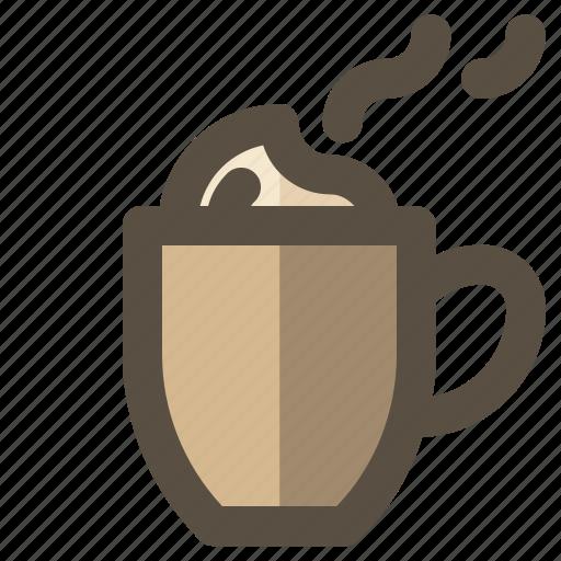 coffee, cup, latte, mug icon