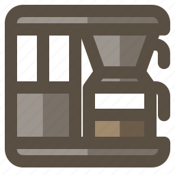 coffee, digital, electric, maker icon