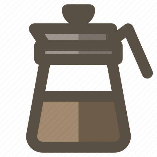 Coffee carafe, coffee decanter, coffee pot, coffee server icon - Download on Iconfinder