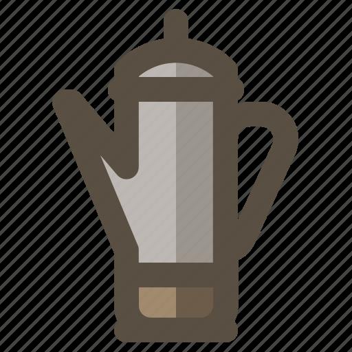 coffee, maker, percolator icon