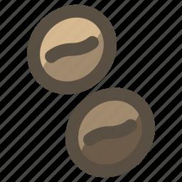 bean, coffee, espresso icon