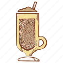 cocktail, coffee, drink, milkshake, shake icon