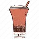 cocktail, coffee, milkshake, shake icon