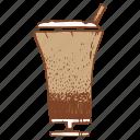 cocktail, coffee, milkshake, shake