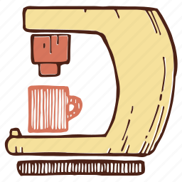 coffee, coffeemaker, espresso, machine icon
