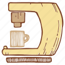 coffee, coffeemaker, espresso, machine icon